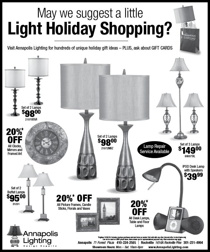 Annapolis Lighting u2013 Holiday Ad  sc 1 st  Clark Communications Group & Showroom Portfolio   Clark Communications Group