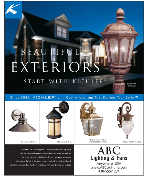 Kichler Lighting Image Ad