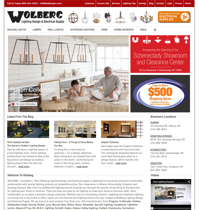 Wolberg Lighting and Electrical Website  sc 1 st  Clark Communications Group & Websites | Clark Communications Group azcodes.com