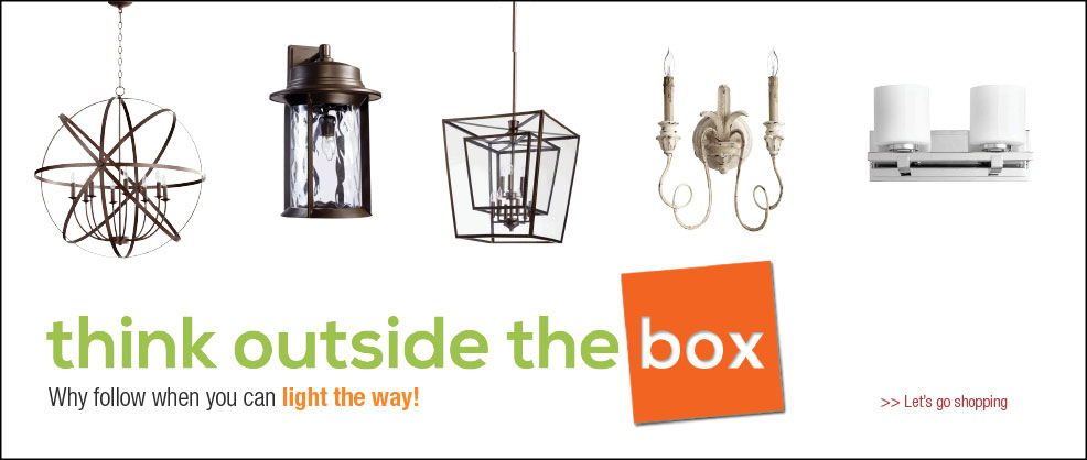 Think Outside The Box Lighting Campaign