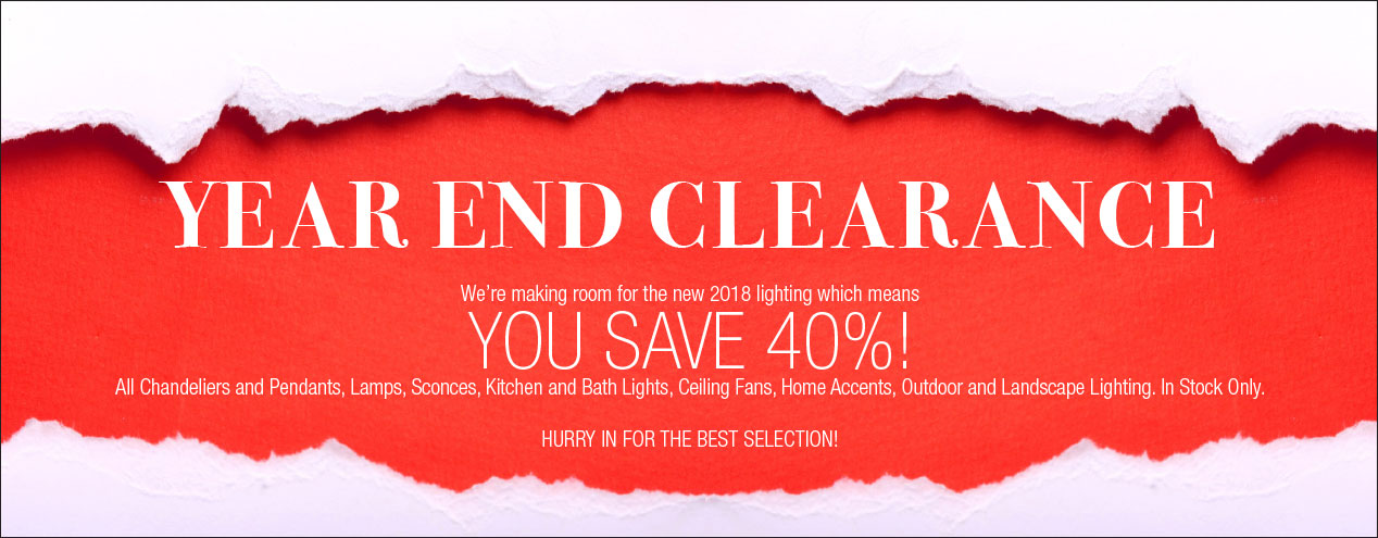 Year End Lighting Clearance Clark Communications Group